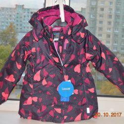 Kızlar için yeni kışlık ceket Lassie 110 (+6)