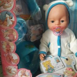 Functional baby dolls, interactive, new