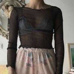 Zara Transparent Top