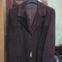 Ceket erkek tenli doğal yeni boyut 54-56