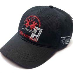 Бейсболка кепка мужская Maserati 2 (черный)