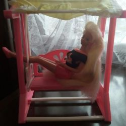 Furniture for Barbie swing