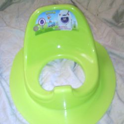 Pad on the toilet for children