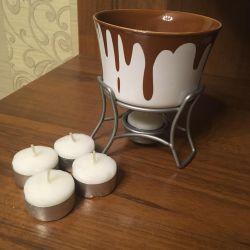 Fondue μπολ σοκολάτας