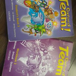 Textbook and workbook in English