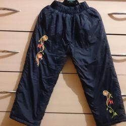 Warm pants 98r.