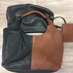 Δερμάτινη τσάντα για γυναίκες