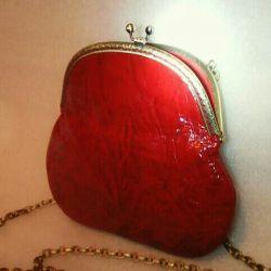 Little Red Lacquer Handbag