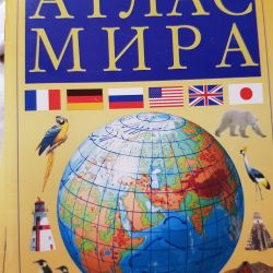 Atas of the world and Russia