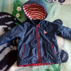 Jacket jacket for a cold summer on a warm autumn,