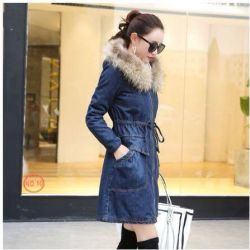 Denim Parka