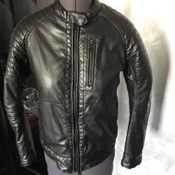 Jacket 44-46 p leather, India, biker, women