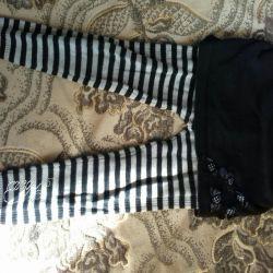 Штаны с юбкой теплые