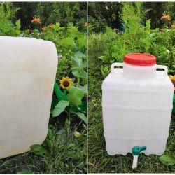 Πλαστικό κάνιστρο 20 λίτρα 32 λίτρα