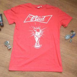 New men's T-shirt Bud World Cup 2018