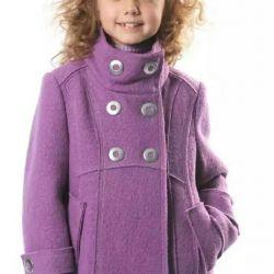 Kızlar için palto.
