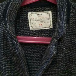 Koyu mavi Zara ceket 116-122cm