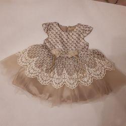Нарядное детское платье новое