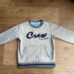 Sweatshirt with fleece