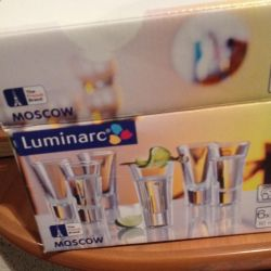 Wine glasses new Luminarc