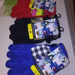 Children's winter gloves