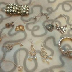 jewelry earrings bracelet pendant pendant