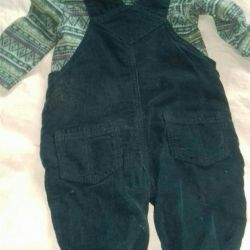 New children's suit from 0-6 months old