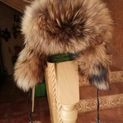Women's fur hat with earflaps