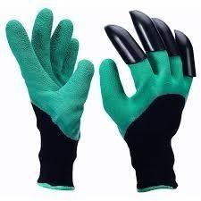 Mănuși de grădină cu gheare noi