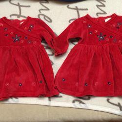 Платья для двойняшек