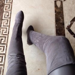 Καλσόν-κάλτσες σουέτ