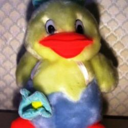 Duck, high 32 cm, quack