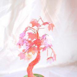 Pink tree sequins