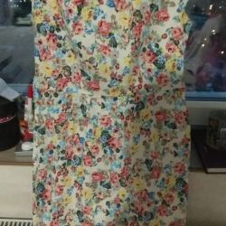 Stylish and modern - a dress with a floral print