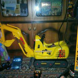 Wheelchair Excavator Dickey