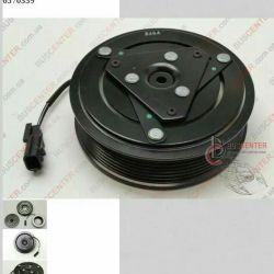 электромагнитное сцепление, компрессор