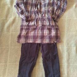 Bluză și pantaloni rezervate