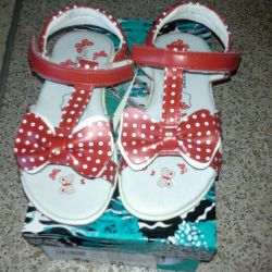 Sandals new for girls in the range. 25 size