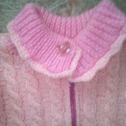8-10 yaş arası kızlar için ceket
