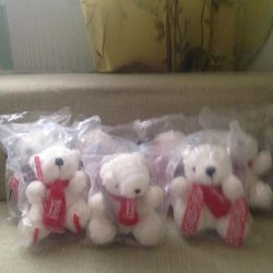 Collectible soft Bears Sochi 2014 new