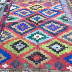 Carpet Oriental kilim. Caucasus