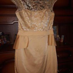 Dress new elegant size 44
