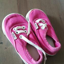 Kızlar için spor ayakkabısı 19-21r