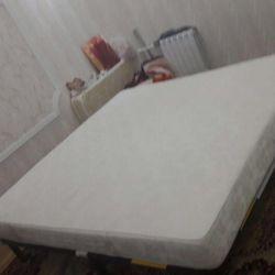 Bir kafes 2na2 ile Ottopedichesky yatak