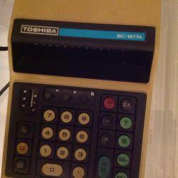 Toshiba BC-1217A vintage calculator serviceable