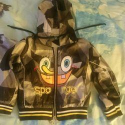 Ветровка (куртка) детская на возраст 1-2 года