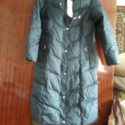 пальто на синтепоме новое