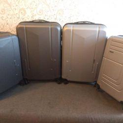 Tekerleklerde yeni dayanıklı bavul, 58 ve 98 litre