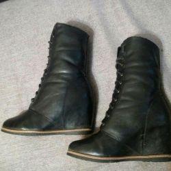 Half boots warm
