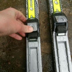 Skis with sticks for grade 1-2./ WITHOUT boots.